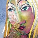 "Neues Gemälde ""Janna"" - Victor Shtivelberg"